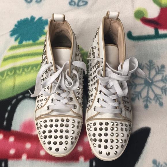 ba4c9e3bfe4 Mens Christian Louboutin Red Bottom Sneakers
